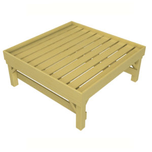 Square Bedding Table