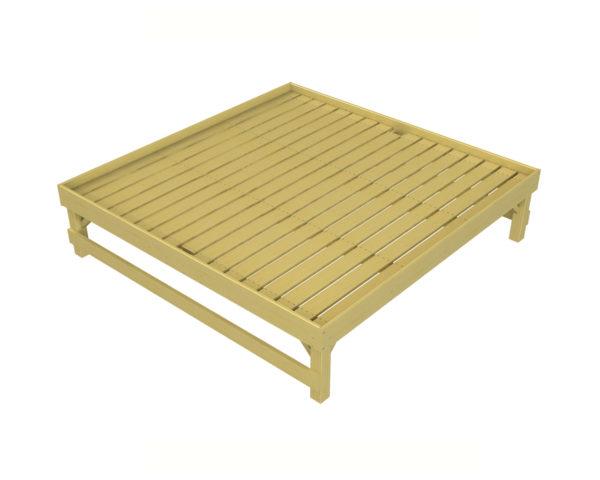 Square Shrub Display Table