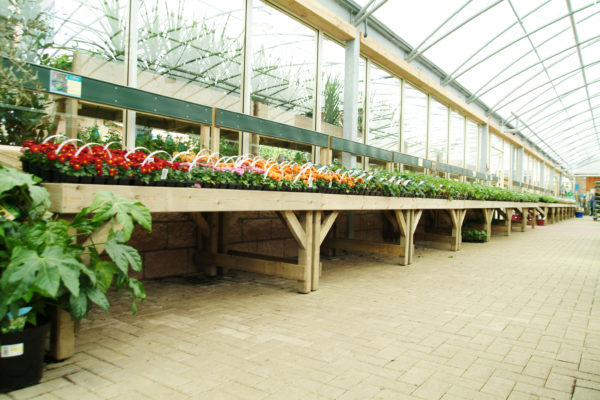 Rectangular Bedding Table
