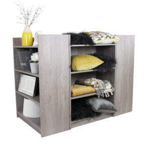 Melamine Gondola Homeware Display