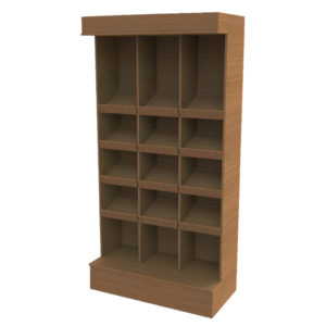 Segmented wall unit 2