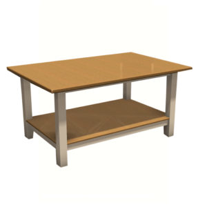 Rectangular Display Table