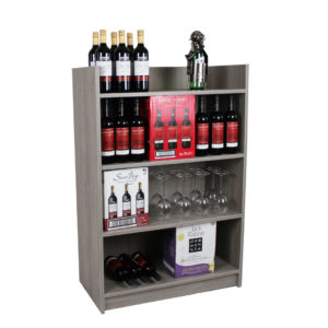 Gondola Bay Unit Wine Display