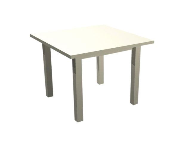 Square Display Table