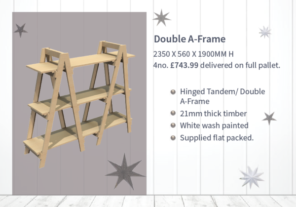 Double A-frame Display