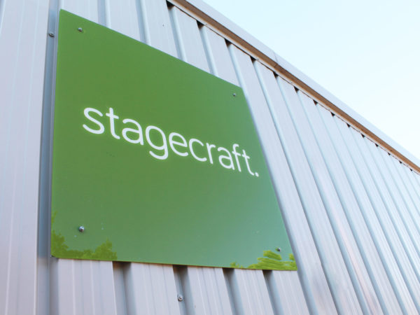 Stagecraft Factory Signage