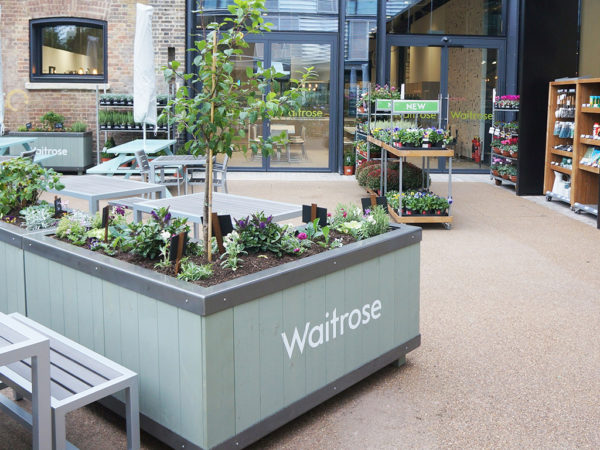 Waitrose Planters and Horticultural Pods