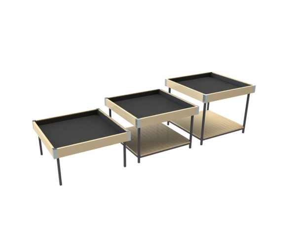 Metal Frame Houseplant Display Tables