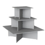 3 Tier Melamine Unit