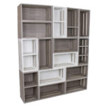 Melamine Crate Wall Unit