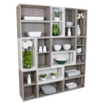 Melamine Crate Displays