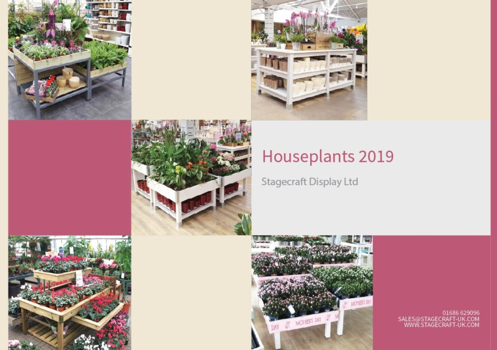 houseplant display tables