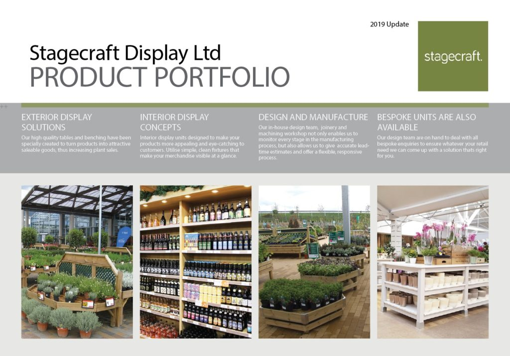 retail display product portfolio