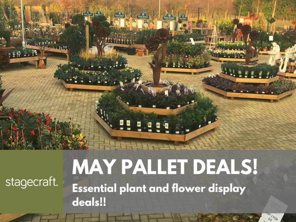 May Pallet Deals by stagecraft display