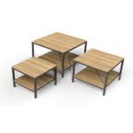 Square Table Metal Frame Gift Table Range 600px by 600px (1)